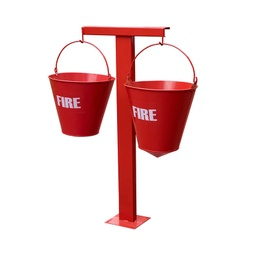 MS Fire Bucket Stand for 2 Bucket
