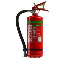Clean Agent 4kg (Stored Pressure) HFC 236fa Fire Extinguisher - Kanex
